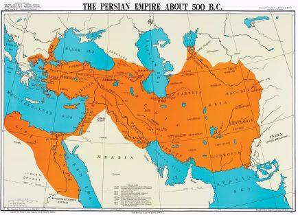 persian empire ca 500 BC