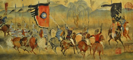 Zhang Yichao PFChangs_China_Bistro-_detail_of_old_cave_painting_mural-_Mexico_City__psd