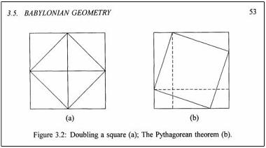 babylonian geometry pythagorean theorem