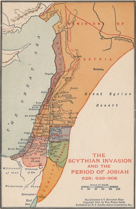 The-Scythian-Invasion of Israel-and-The-Period-of-Josiah