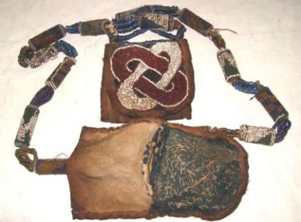 Yoruba Babalawo priest's diviners necklace or Odigba Ifá.