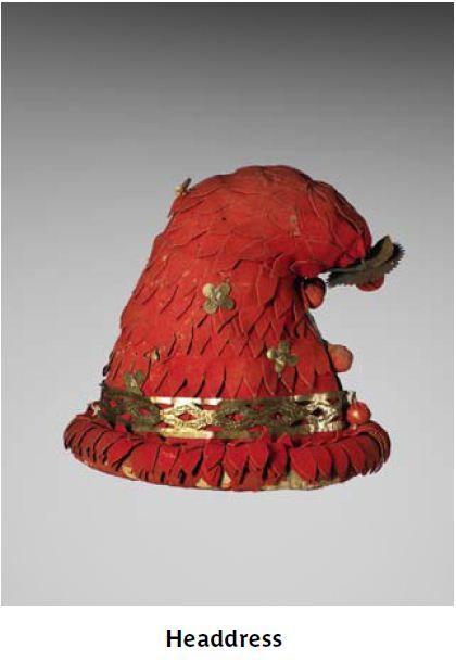 red copper phrygian cap nigeria africa yoruba