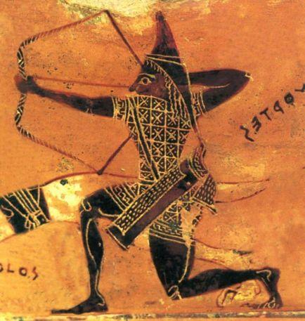 black scythian cimmerian kimmerian kimerios archer