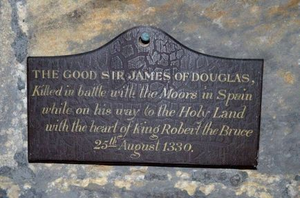 sir james douglas the black killed in spain