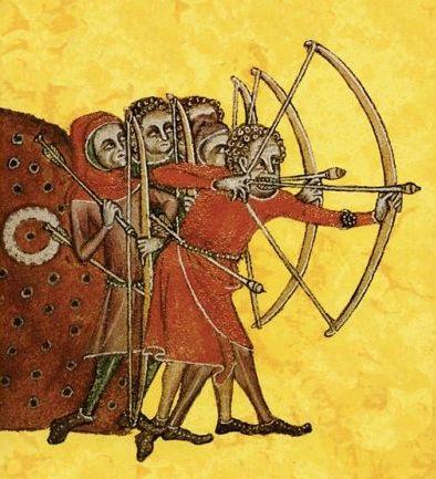 Entrainement des archers gallois Training Welsh archers 2