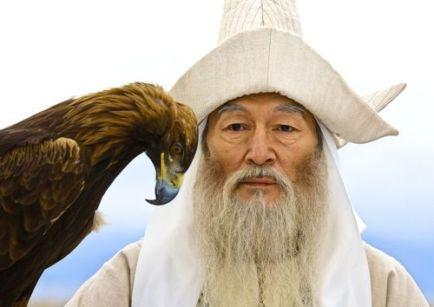 mongolian trident hat
