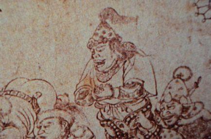black uighur chieftain tang dynasty 660 CE