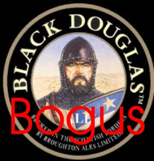 DOUGLAS fake white