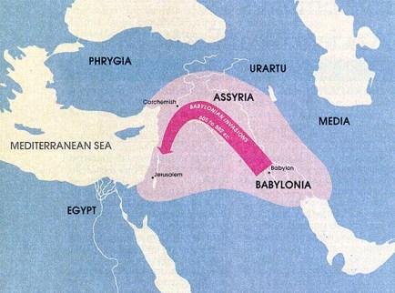 battle of carchmish babylonian invasion map