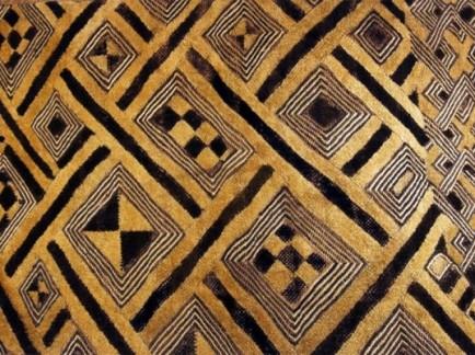 kuba-cloth mongo pythagorean triangle