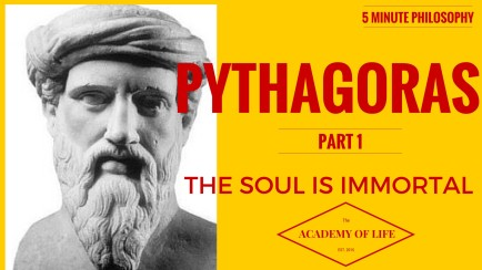 pythagoras the soul is immortal