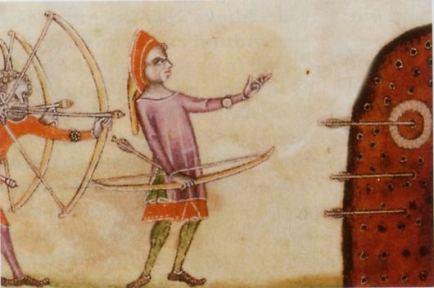 Entrainement des archers gallois Training Welsh archers 1