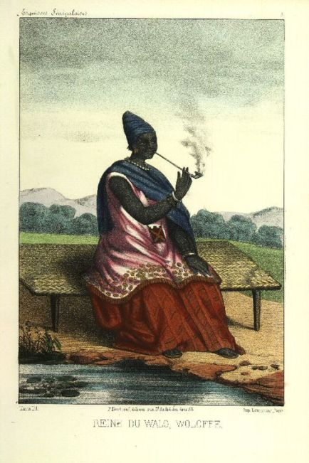 Ndatté Yalla was Queen of the Kingdom of Waalo, a Kingdom located where is now the Republic of Senegal