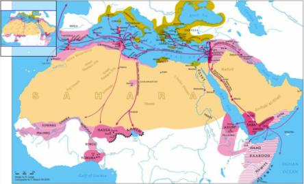 israelite land and sea migration routes map dierk lange
