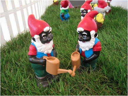 black smurfs and gnomes represent the black picti of ancient west europe