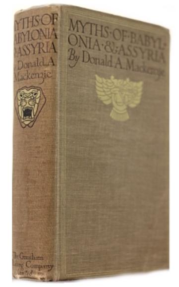 myth of babylonia and assyria by donald mackenzie