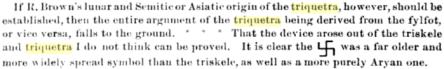 triquetra swastika connection