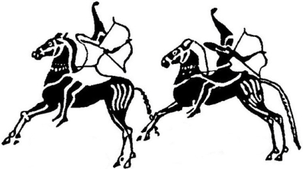 scythian archer art