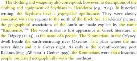 kimmerians herodotos scythians north of black sea