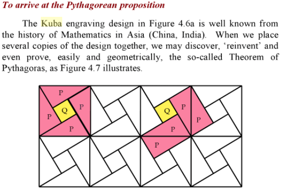 African Pythogoras: A Study in Culture and Mathematics Education By Paulus Gerdes, PG 55-5