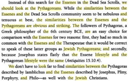 The Lost Religion of Jesus: Simple Living and Nonviolence in Early Christianity, By Keith Akers, PG 39
