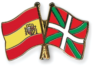 spain basque flags