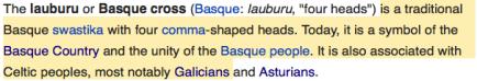 lauburu basque cross
