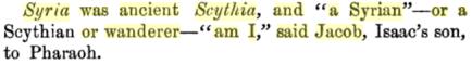 syria was ancient scythia