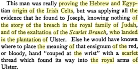 Judah's Sceptre and Joseph's Birthright: An Analysis of the Prophecies of Scripture in Regard to the Royal Family of Judah and the Many Nations of Israel, By John Harden Allen, PG 303