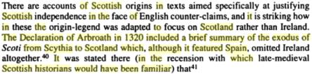 The Irish Identity of the Kingdom of the Scots, By Dauvit Broun, PG 119