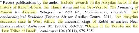 African Zion: Studies in Black Judaism, edited by Edith Bruder, Tudor Parfitt, PG 168,