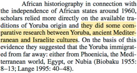 dierk lange lost tribes of israel yoruba nigeria pdf