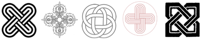 buddhist hindu vajra solomons knot