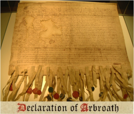 Declaration of Arbroath Hebrew Israelites Scotland