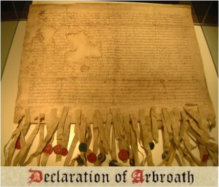 Declaration of Arbroath Hebrew Israelites Scotland