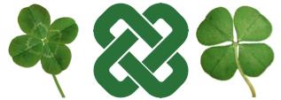 four leaf clover solomons knot
