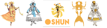 oshun ceremonial fan