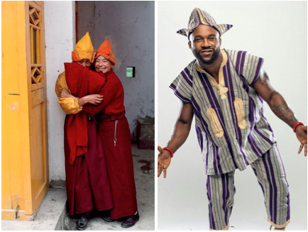 tibetan yoruba west african hat comparison