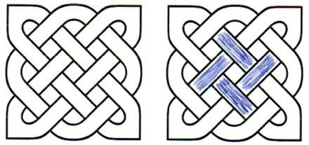 basque celtic knot cross swastika mongo african pythagoras