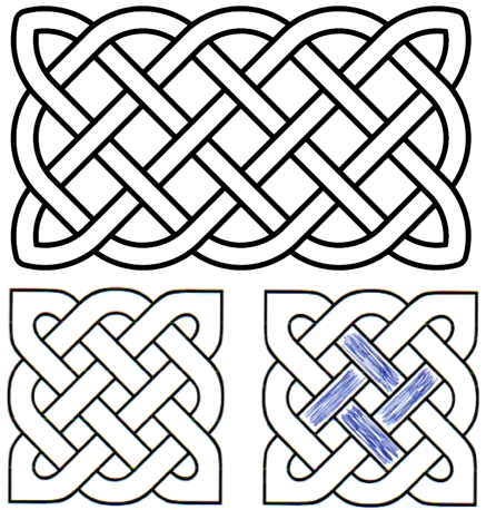 solomons knot celtic knot swastika