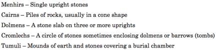 mairu moors stone circles megaliths