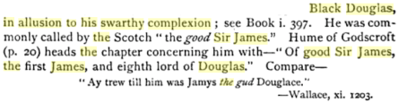 The Bruce, Or, The Book of the Most Excellent and Noble Prince, Robert de Broyss, King of Scots, edited by Walter William Skeat, PG 280