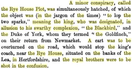 The House of Stuart, PG 262