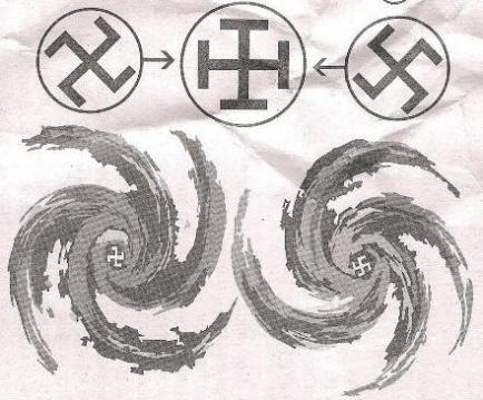 swastika yin yang hegelian