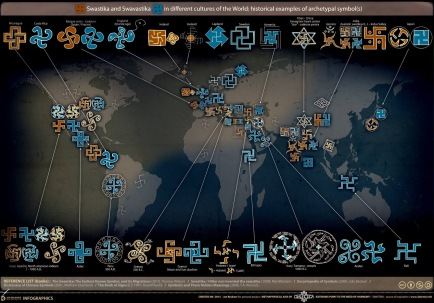 Swastika world map The Ancient Secret of the Swastika