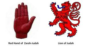 symbols-of-judah zarah red lion red hand