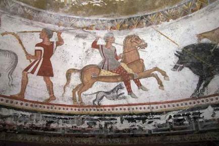 thracian horse rider calvary