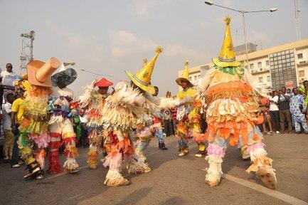 Nigerian Ugie-Carnival-Dancers brownies moors mairu