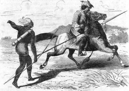 west african scythians archers calvary