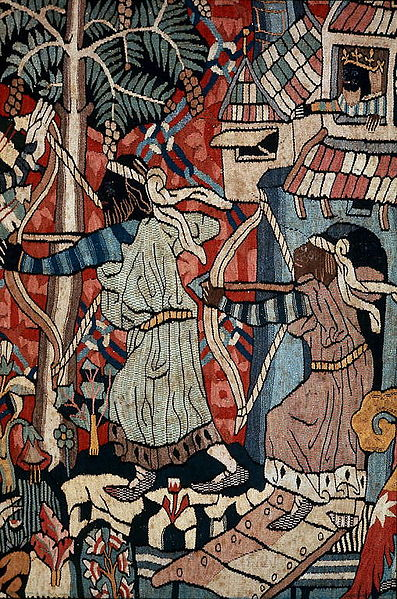 Wild Men and Moors archers moors head black heads nigger head long bow medieval 1400